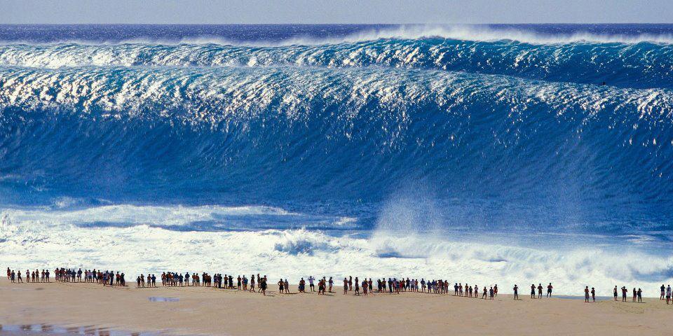 Surf de olas Gigantes