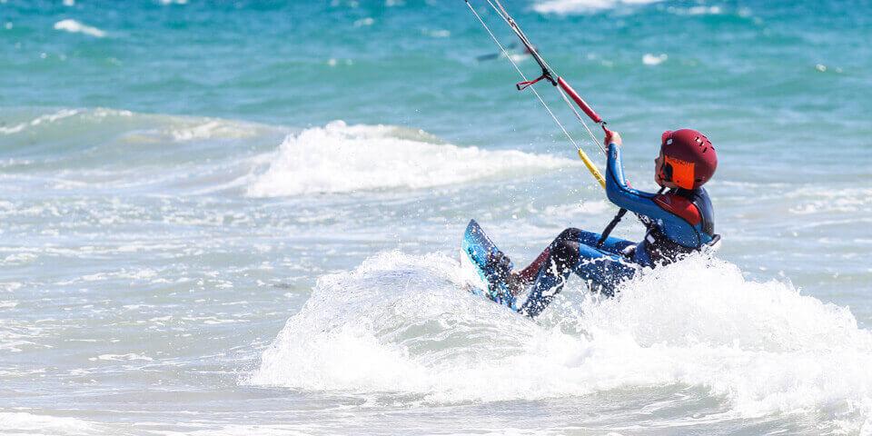 Kitesurf deporte de moda en Tarifa