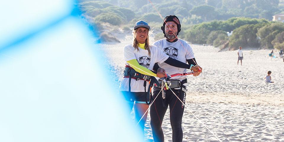 Tienes que probar el kitesurfing