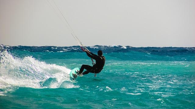 Ventajas del kitesurf para la salud