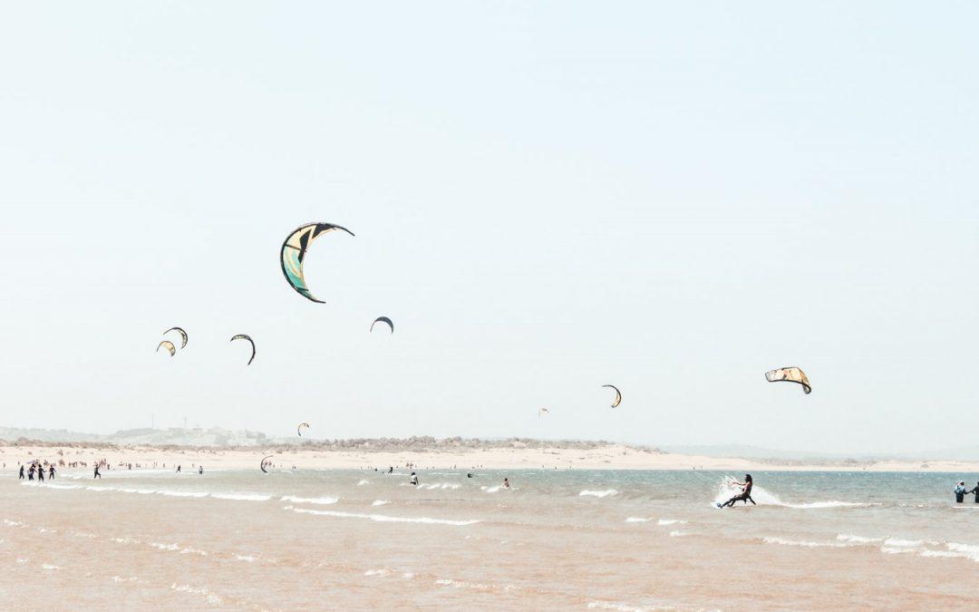 Diferencias entre el surf y el kitesurf